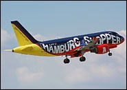 Airbus A319 Germanwings Hamburg Shopper