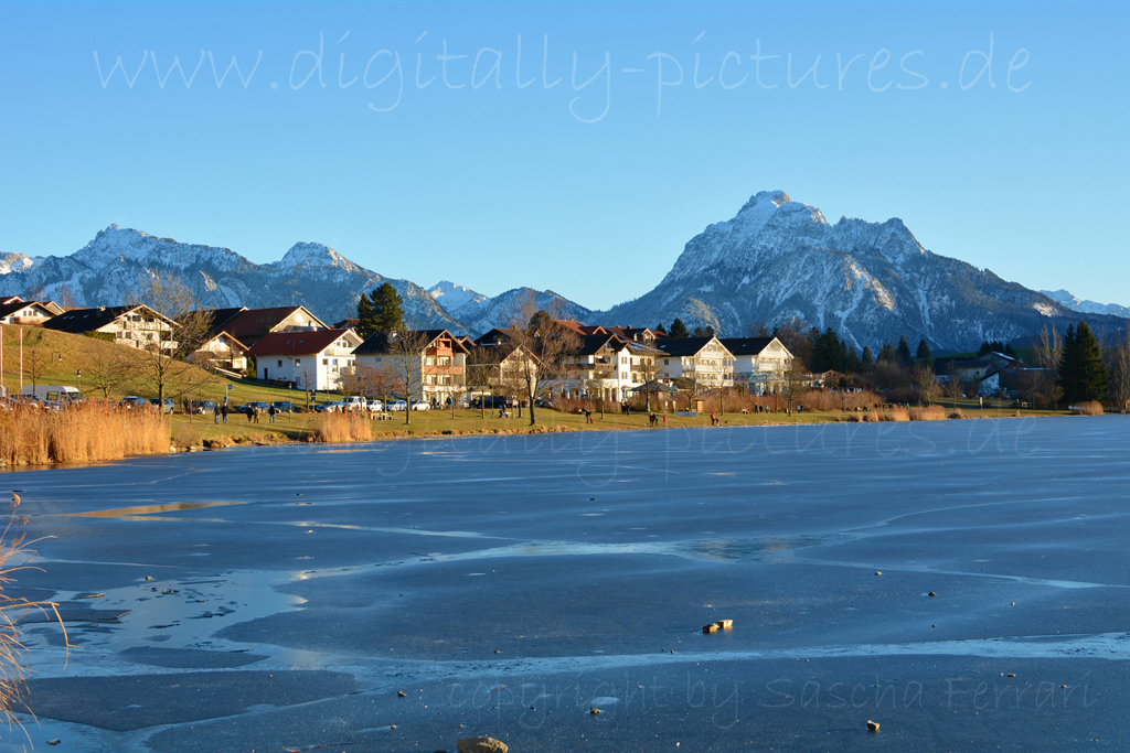 Hopfensee Winter