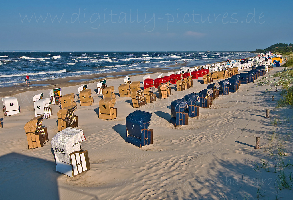 Sandstrand Insel Usedom