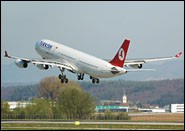Airbus A340 Turkish Airlines