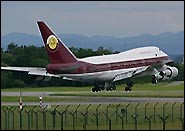 Boeing 747 SP Worldwide Aircraft Holding